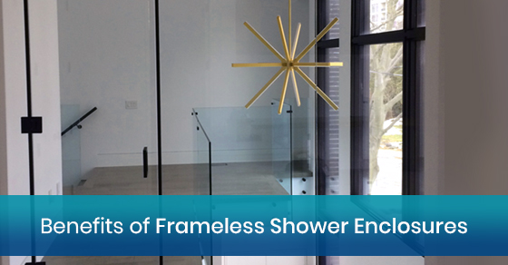 Benefits of Frameless Shower Enclosures
