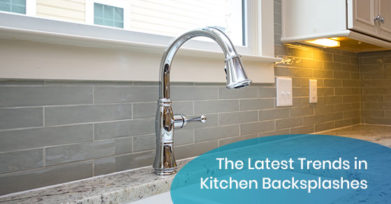 The Latest Trends in Kitchen Backsplashes