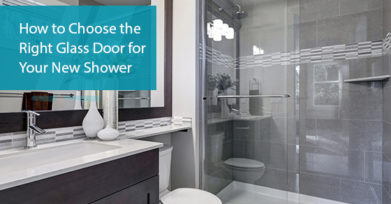 Right Glass Door for Your New Shower