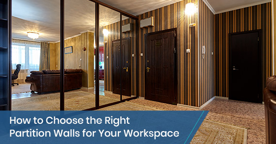 How to Choose the Right Partition Walls for Your Workspace